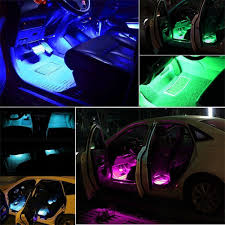 Led Strip Lights For Car Interior by Amazon Com Car Led Strip Lights Aukora Bluetooth App Controller
