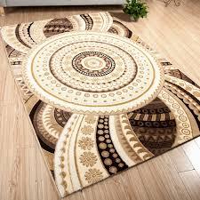 maison du tapis la maison du tapis maisons du mondetapis en coton beige motifs