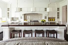 counter height kitchen islands standard counter height kitchen transitional with chandelier brown