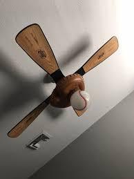 hunter baseball ceiling fan hunter baseball fan with baseball light household in gilbert az