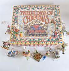 jim shore 12 days of christmas ornament set ebth