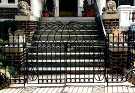 house authority preservation iron railings repaired
