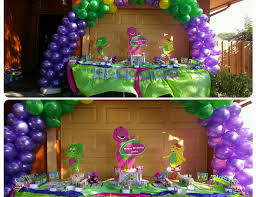 Barney And Friends Party Decorations