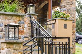 Banister Wall Exterior Railings Gallery Compass Iron Works