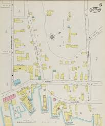 University Of Maine Map Eastport And Lubec 1893