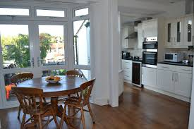 small open concept floor plans open concept floor plans for small homes kitchen extension before