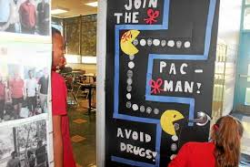 Red Ribbon Week Door Decorating Ideas North Brandywine Students Decorate Doors To Denounce Drugs