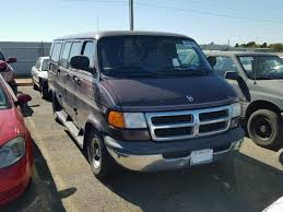 dodge cer vans for sale salvage certificate 1999 dodge ram cargo va 5 2l 8 for sale in
