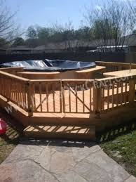 Above Ground Pool Ideas Backyard Decking For Above Ground Pools Archives Dallas Deck Craft
