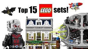 top 15 lego sets