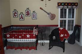 Western Boy Crib Bedding Baby Boy S Country And Western Guitar Nursery Theme Decor Pictures