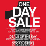 macy s one day sale includes black friday doorbusters