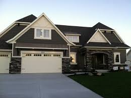 new home exterior color schemes house paint color combinations