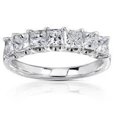 princess cut wedding ring princess s wedding bands shop the best bridal wedding