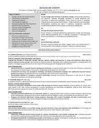 Chief Marketing Officer Resume Resume Samples Program U0026 Finance Manager Fp U0026a Devops Sample