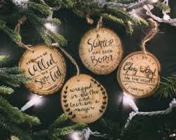 scripture ornaments etsy