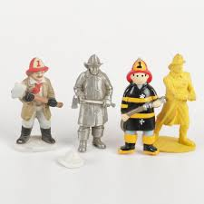 firefighter figurines decorative firefighter figurines ebth