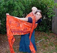 double hammock carry wrap your baby