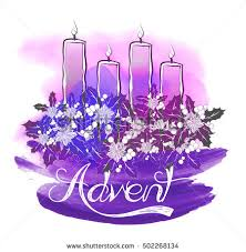 advent wreath candles advent wreath four burning candles abstract stock vector 502268134