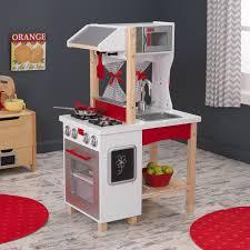 kidkraft modern country kitchen set kidkraft modern island play kitchen 53330 walmart com