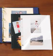 photo album refills 3 ring large sheet protectors oversized sheet protectors exposures