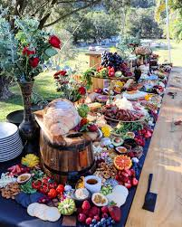 make your own buffet table the best grazing tables food wedding and food ideas