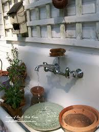 convert an old sink into a fountain garden of len u0026 barb rosen