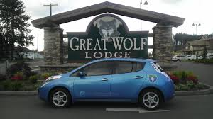 nissan leaf charging points cars with cords to great wolf u0026 back on the west coast electric