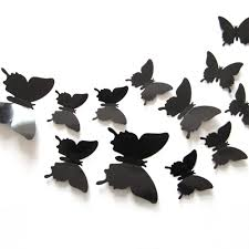 posters for home decor 12 pcs lot pvc 3d diy butterfly wall adhesive to wall decals