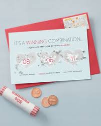 scratch off save the date martha stewart weddings