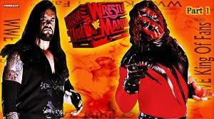 Kane Halloween Costume Undertaker Kane Wrestlemania Xiv Undertaker