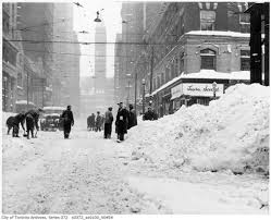 Worst Snowstorm In History by The Great Toronto Snowstorm Of 1944