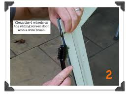 Replacing Patio Door Rollers by Sliding Screen Doors How To Remove Clean U0026 Tune In Under 10 Minutes