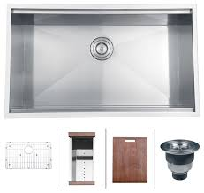 Single Kitchen Sinks by Undermount Stainless Steel Kitchen Sink 32