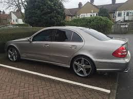 mercedes e55 amg 2004 w211 high spec in tooting london gumtree