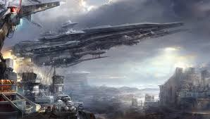 wallpapers futuristic spaceship this cool d fighter was created by