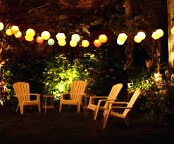 patio ideas globe string lighting outdoor globe string lights