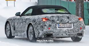 kereta bmw z4 spyshots bmw z5 spotted again taillights shown