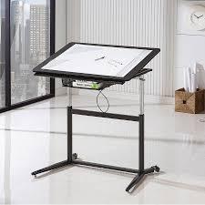 Metal Drafting Table Cornerstone Modern Adjustable Drafting Table Eurway
