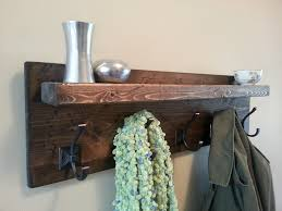 reclaimed wood decor floating shelf