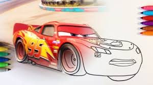 cars 3 lightning mcqueen just a leader coloring pages for