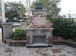 Backyard Fireplaces Ideas Outdoor Fireplaces Fire Pits Firepits Hempstead New York Ny