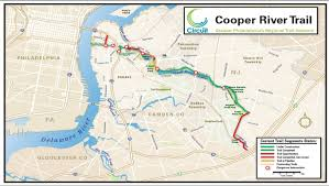 Camden County Maps To See The Potential Of New Jersey U0027s Cooper River Trail Just Look