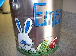 painted easter buckets 23 best easter images on easter food easter ideas and