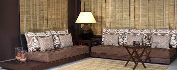 decoration maison marocaine pas cher salon marocain marron et beige dootdadoo com u003d idées de