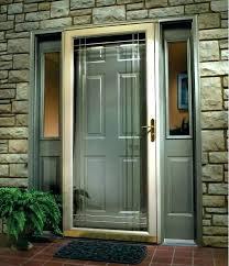 front door security light camera screen door installation front door security light front door
