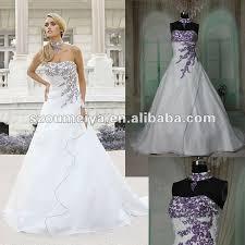 wedding dresses with purple detail free shipping oumeiya orw215 organza a line magazine style purple
