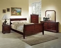 Queen Bedroom Sets Louis Philippe Queen Cherry Bedroom Set By Lifestyle Furniture