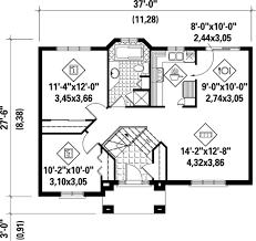split level home floor plans simple split level home plan 80367pm architectural designs