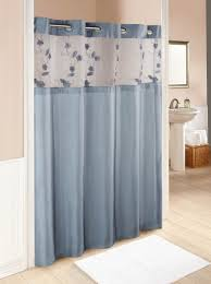 Cassandra Shower Curtain by Brown And Blue Shower Curtain Blue Shower Curtain Hand Drawn